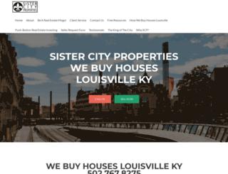 sistercityproperties.com screenshot