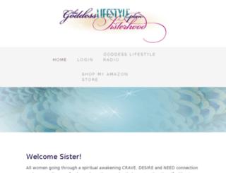 sisterhood.goddesslifestyleplan.com screenshot