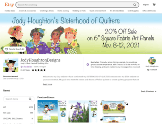sisterhoodofquilters.com screenshot