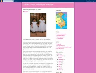 sisters-ourjourneytovietnam.blogspot.com screenshot