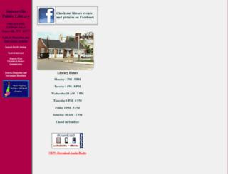 sistersville.lib.wv.us screenshot