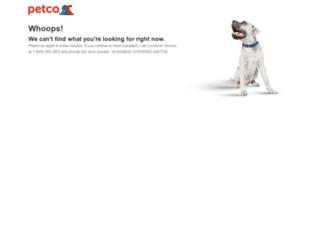 sit-www.petco.com screenshot