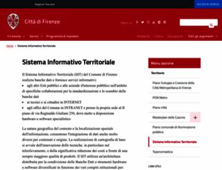 sit.comune.fi.it screenshot
