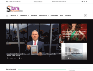 sitaramagazine.com.ve screenshot