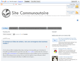 site-communautaire.blogspot.co.uk screenshot
