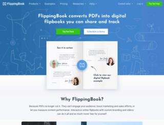 site-dev.flippingbook.com screenshot