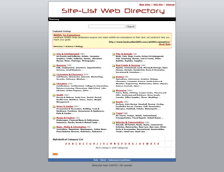 site-list.net screenshot