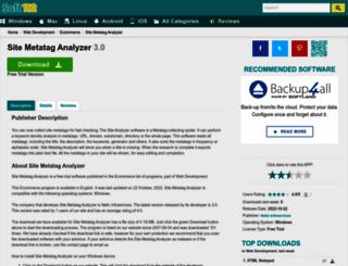 site-metatag-analyzer.soft112.com screenshot