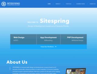 site-spring.com screenshot