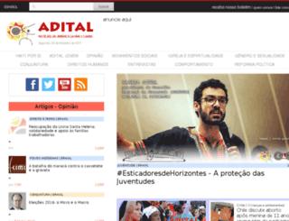 site.adital.com.br screenshot