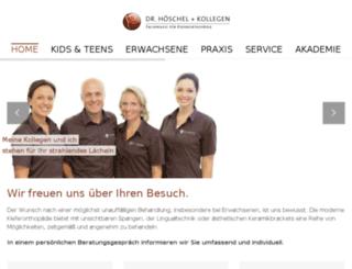 site.duesseldorf-kieferorthopaeden.de screenshot
