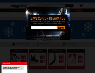 site.hockeygiant.com screenshot