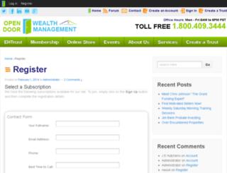 site.landtrust.net screenshot