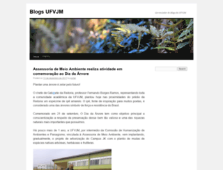site.ufvjm.edu.br screenshot