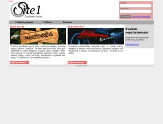 site1.lt screenshot