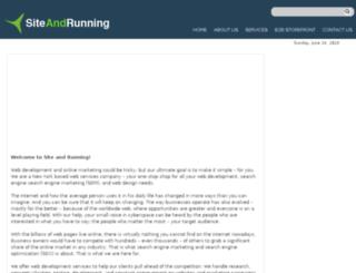 siteandrunning.com screenshot