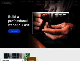 sitebuilder.com screenshot