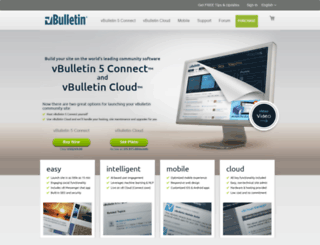 sitebuilder.vbulletin.com screenshot