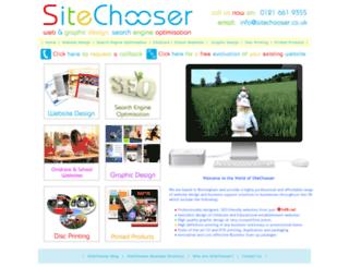 sitechooser.co.uk screenshot