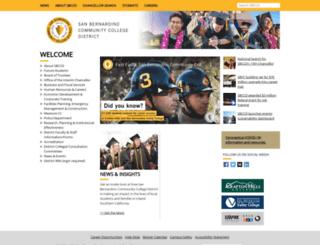 sitecore.sbccd.org screenshot