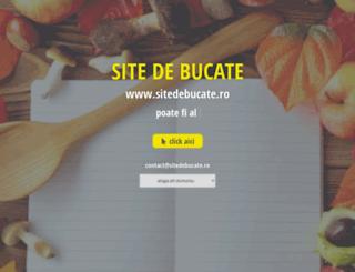 sitedebucate.ro screenshot