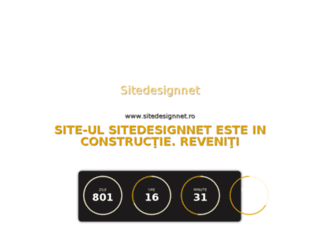 sitedesignnet.ro screenshot