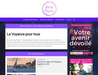 sitedevoyance.net screenshot
