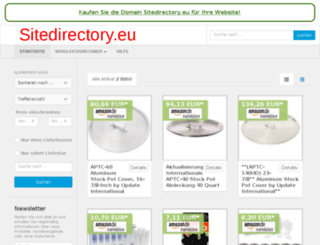 sitedirectory.eu screenshot