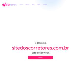 sitedoscorretores.com.br screenshot