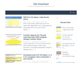 sitedownload.id screenshot