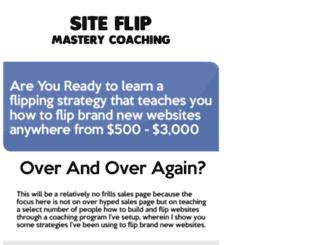 siteflipcoaching.com screenshot
