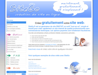 sitego.fr screenshot