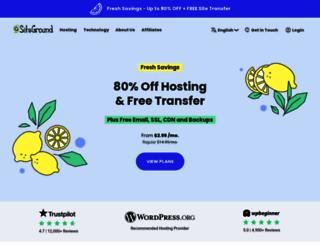 sitegroundhosting.com screenshot