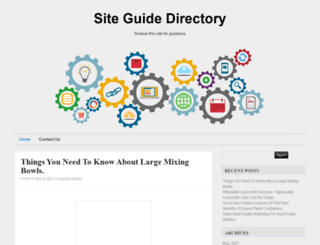 siteguidedirectory.com screenshot