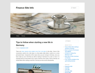 siteinfo.org.uk screenshot