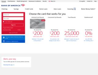 sitekey.bankofamerica.com screenshot