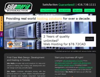 sitemafia.com screenshot