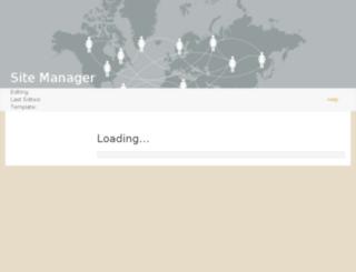 sitemanager.foreverliving.com screenshot