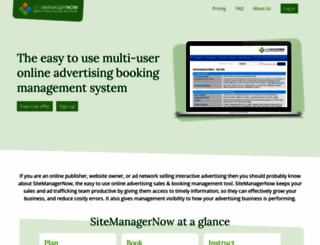 sitemanagernow.com screenshot