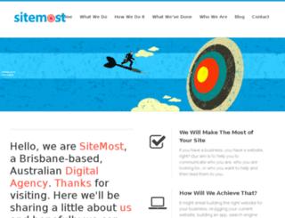 sitemost.com.au screenshot