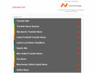 sitenews.info screenshot