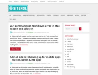 sitenol.com screenshot