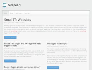 sitepearl.com screenshot
