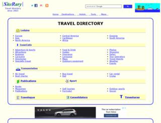 siterary.com screenshot
