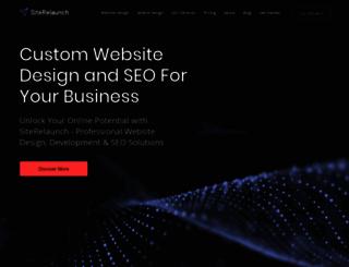 siterelaunch.com screenshot