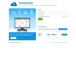 siteremote.net screenshot