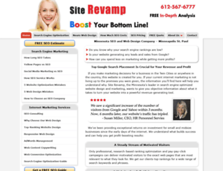 siterevamp.com screenshot