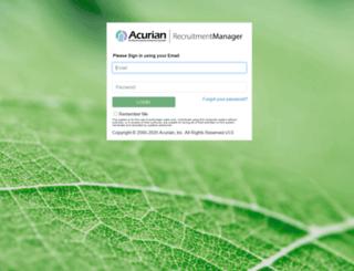 sites.acurian.com screenshot