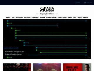 sites.asiasociety.org screenshot