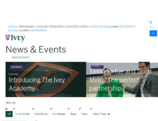 sites.ivey.ca screenshot